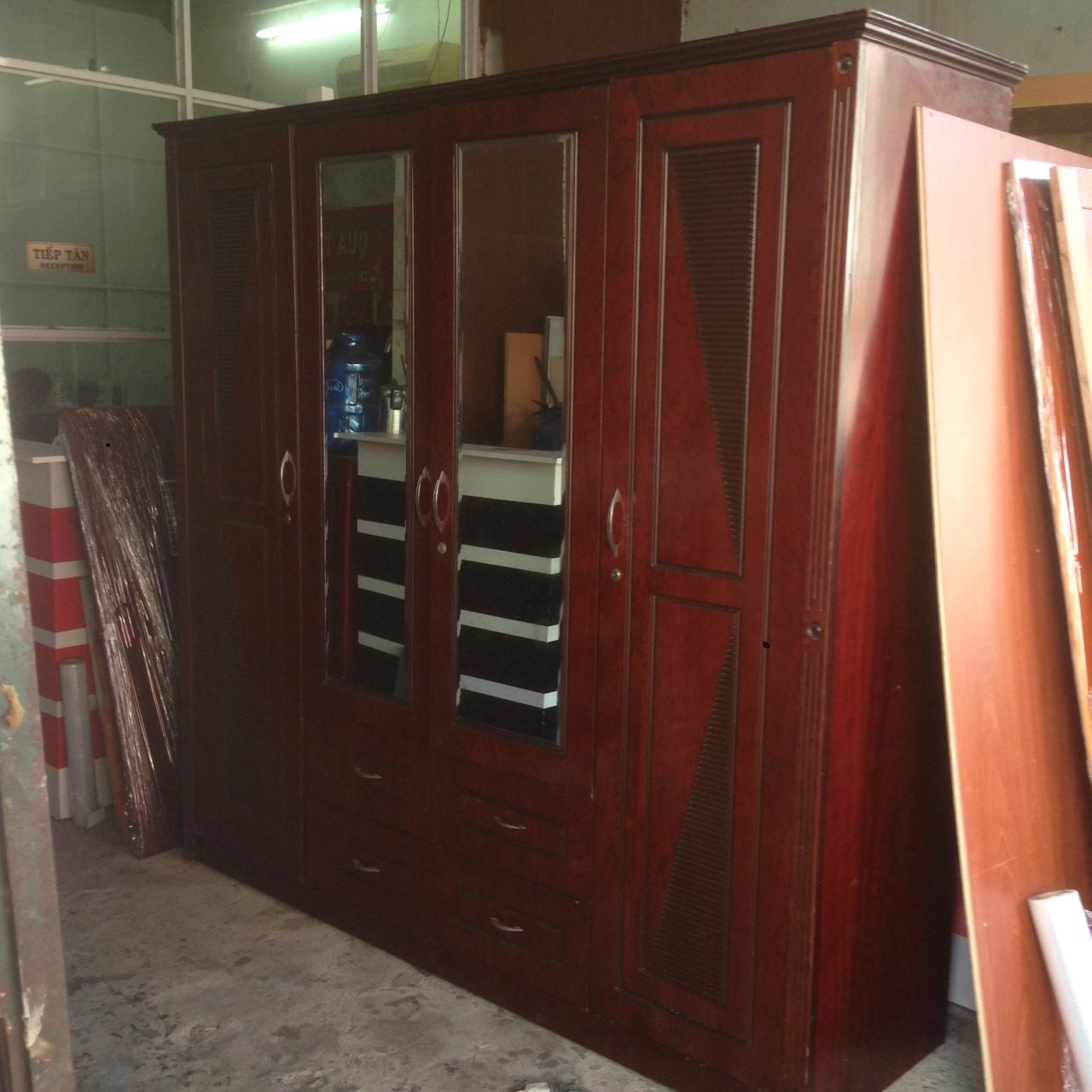 Tủ quần áo cũ giá rẻ