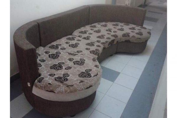 Thanh Lý Sofa Cũ Bọc Nệm Màu Nâu