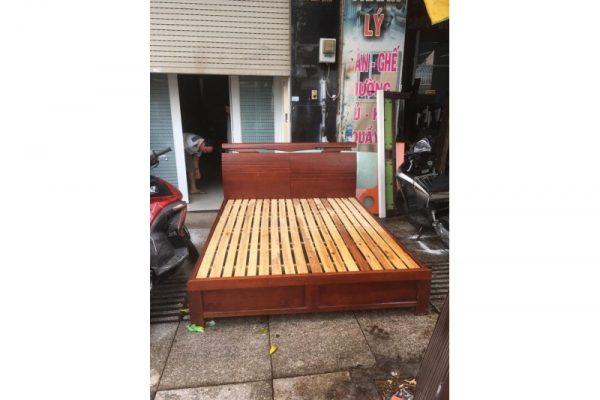 thanh lý giường cũ 1m8 m34
