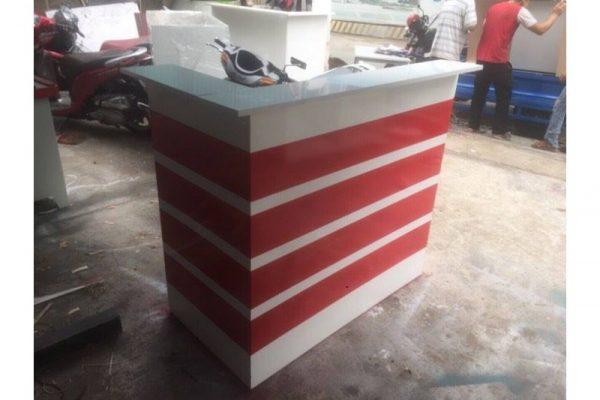 Thanh Lý Quầy Mini 60cm Trắng Đỏ