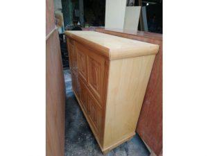 Thanh lý tủ giày thông minh gỗ sồi giá rẻ