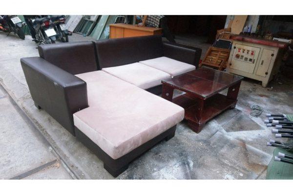 Thanh lý bộ sofa da cũ thương hiệu rosano nổi tiếng