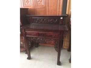 Thanh lý bàn thờ gỗ muồng 2 tầng giá rẻ