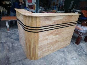 Thanh lý quầy pha chế cũ bằng gỗ tự nhiên giá rẻ