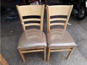 Thanh lý ghế cabin gỗ tự nhiên G06 giá rẻ