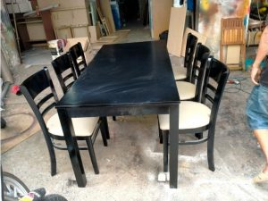 Thanh lý bộ bàn ăn 6 ghế cao cấp