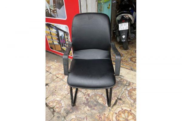 Thanh lý ghế chân quỳ cũ màu đen G64