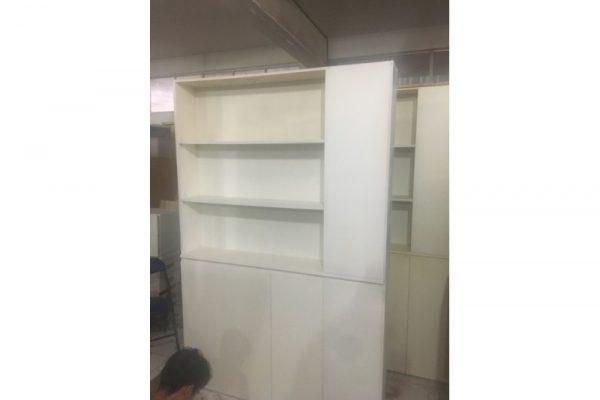 Thanh lý tủ hồ sơ cũ 3 ngăn màu trắng TS01