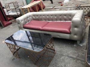 Thanh lý bộ sofa cũ kiểu tân cổ điển