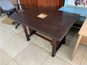 Thanh lý bàn quán ăn cũ gỗ tự nhiên