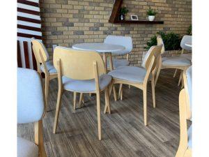 Thanh lý bộ bàn ghế gỗ cafe cao cấp
