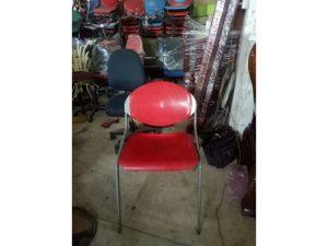 Thanh lý ghế bar cũ màu đỏ