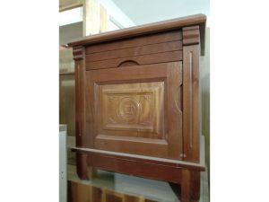 Thanh lý tủ đầu giường cũ gỗ xoan đào