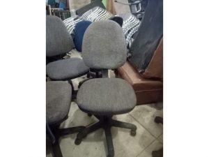 Thanh lý ghế xoay nhỏ màu xám GX01