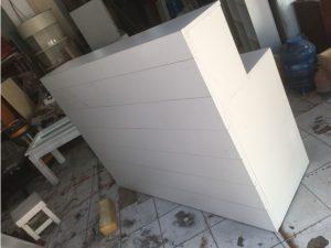 Thanh lý quầy lễ tân màu trắng Q01