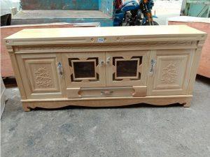 Thanh lý kệ tivi 1m6 gỗ sồi hàng xuất khẩu