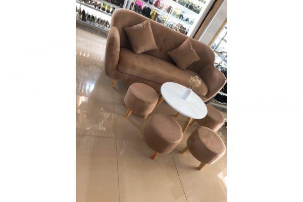 Thanh Lý Bộ Sofa Nhà Xinh Như Mới Giá Rẻ SF003