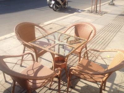 Địa chỉ thanh lý bàn ghế cafe cũ giá rẻ tại TP.HCM