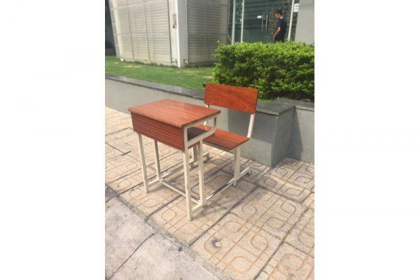 Thanh lý Bộ bàn liền ghế học sinh có tựa cũ giá rẻ
