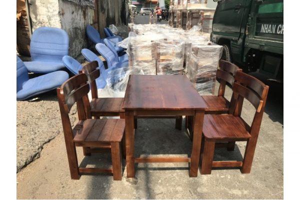 Thanh lý Bộ bàn ghế cafe milano mới 100% giá xưởng