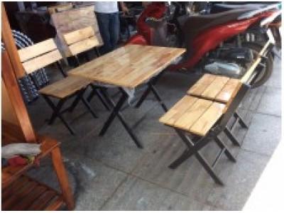 Những mẫu bàn ghế quán nhậu hot nhất hiện nay