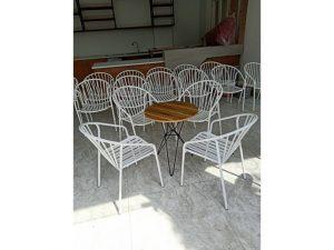 Thanh lý Bộ bàn 4 ghế cafe sân vườn cao cấp