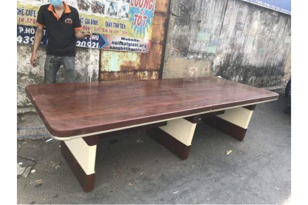Thanh lý Bàn họp gỗ cũ dài 3m hàng cao cấp giá rẻ