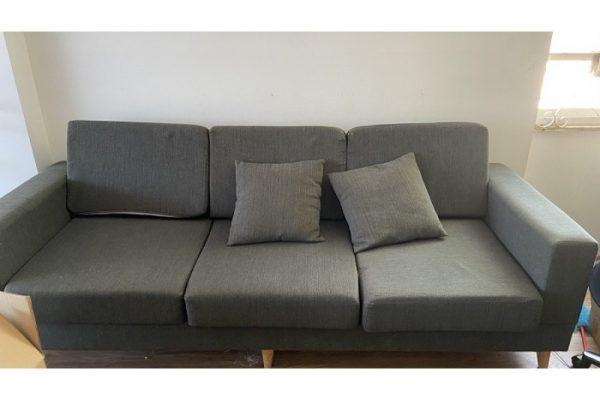 Thanh lý Băng sofa 3 chỗ bọc vải hàng cũ giá rẻ