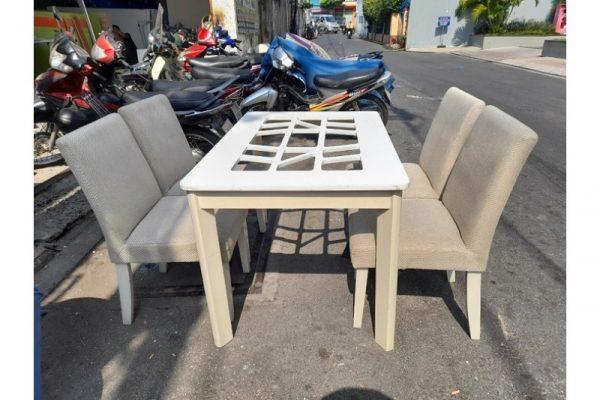 Thanh lý Bộ bàn ăn cũ 4 ghế sang đẹp giá rẻ