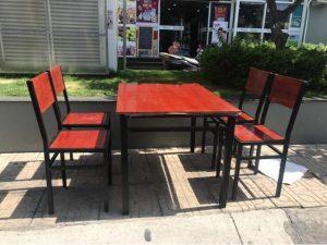 Thanh lý Bộ bàn ghế quán ăn hàng mới giá xưởng