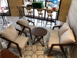 Thanh lý Bộ bàn ghế sofa cao cấp cho quán cafe