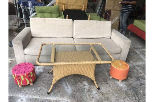 Thanh lý Bộ sofa tiếp khách mini mới 90% giá rẻ