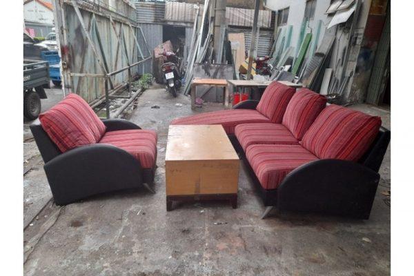 Thanh lý Bộ sofa bọc vải kèm bàn cao cấp giá rẻ