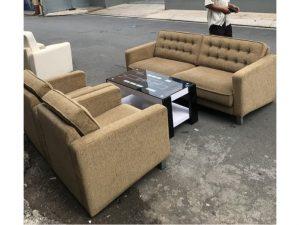 Thanh lý Bộ sofa rosano bọc vải cao cấp mới 95% giá rẻ