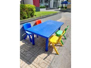 Bộ bàn ghế trẻ em mầm non cũ cao cấp giá rẻ