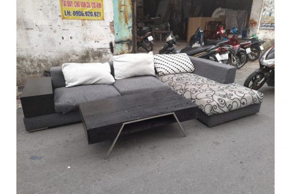 Thanh lý Bộ sofa góc L đệm lò xo cao cấp giá rẻ