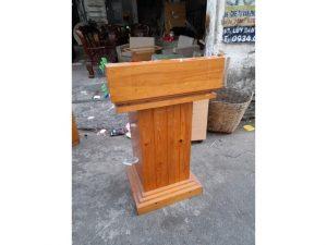 Thanh lý Bục phát biểu bằng gỗ cao cấp giá rẻ