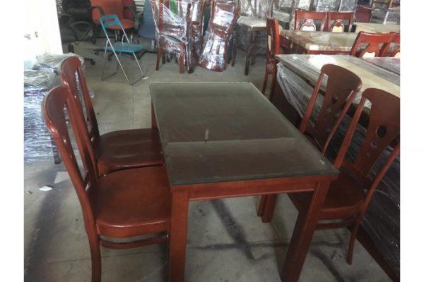Thanh lý bộ bàn ăn 4 ghế cũ M06