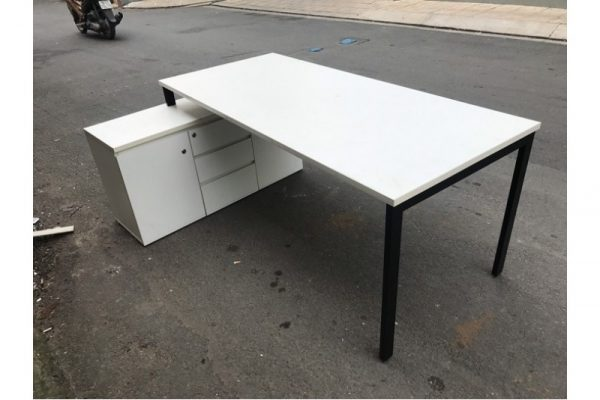 Thanh lý set bàn + tủ hs cho trưởng phòng giá rẻ