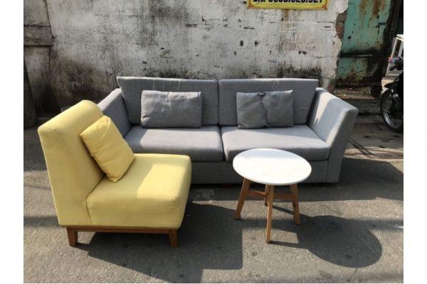Thanh lý Bộ sofa tiếp khách mới đẹp 95% giá rẻ