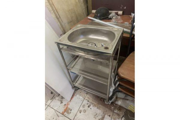 Thanh lý bồn rửa inox M01