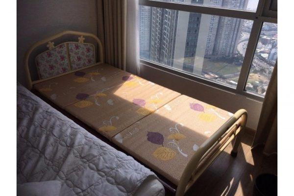 Thanh lý giường sắt cũ 1m x 2m
