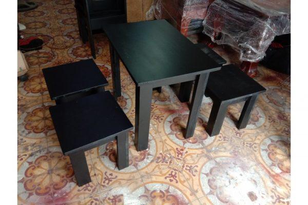 Thanh lý bộ bàn ghế cafe cũ M18