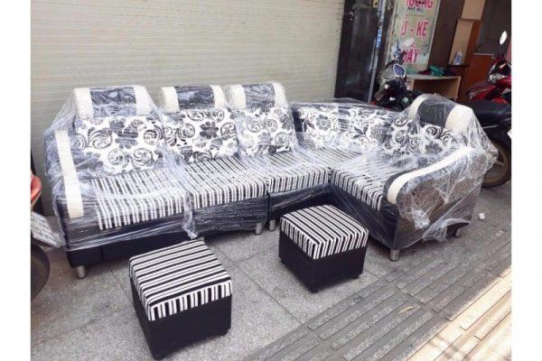 Thanh lý bộ sofa góc L SF010 giá rẻ