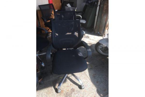 Thanh lý ghế xoay nhân viên cũ chân inox GIN01