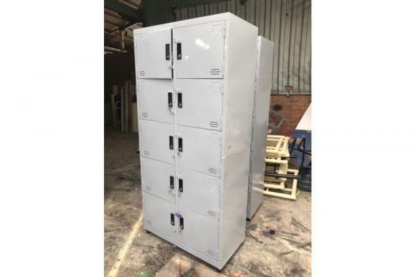 Thanh lý tủ locker 10 ngăn cũ giá rẻ