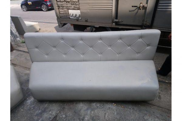 Thanh lý băng sofa cũ simili màu xám