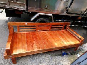 Thanh lý giường gấp gỗ xoan 1m9 x 1m4