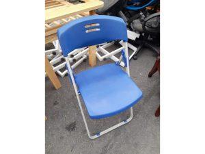 Thanh lý Ghế chân xếp màu xanh cũ giá rẻ