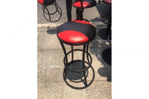 Thanh Lý Ghế Bar Đỏ Đen 01